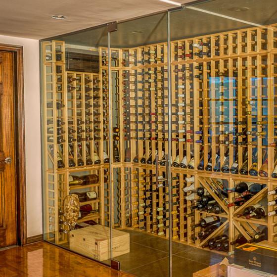 Cellier à vin